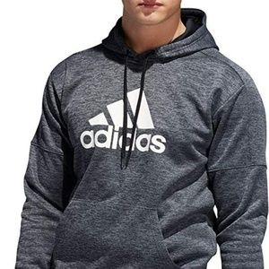 Adidas Men's Team Issue Badge of Sport Hoodie